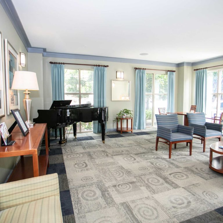 Community room at Columbia Senior Residences at Edgewood - Apartments in Atlanta, GA