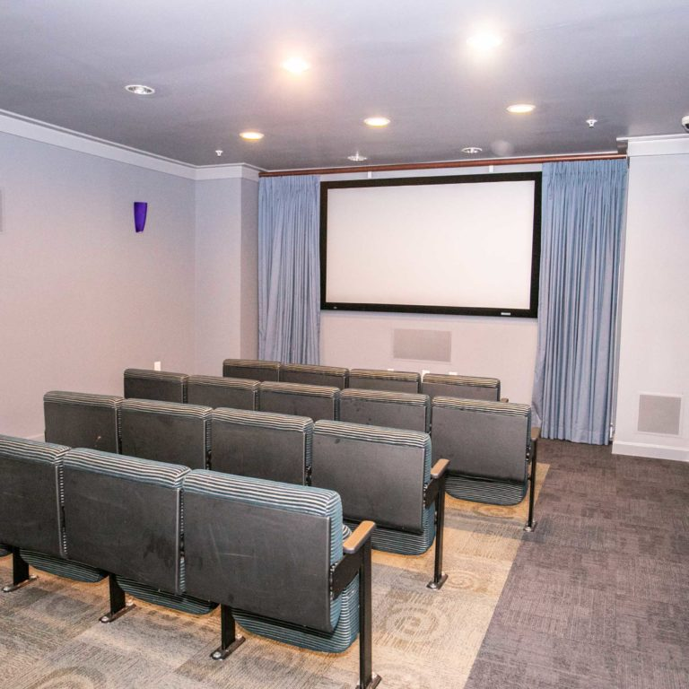 Community theater at Columbia Senior Residences at Edgewood - Apartments in Atlanta, GA