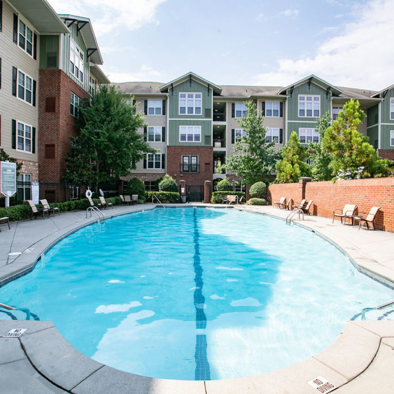 Community pool at Columbia Sylvan Hills - Apartments in Atlanta, GA