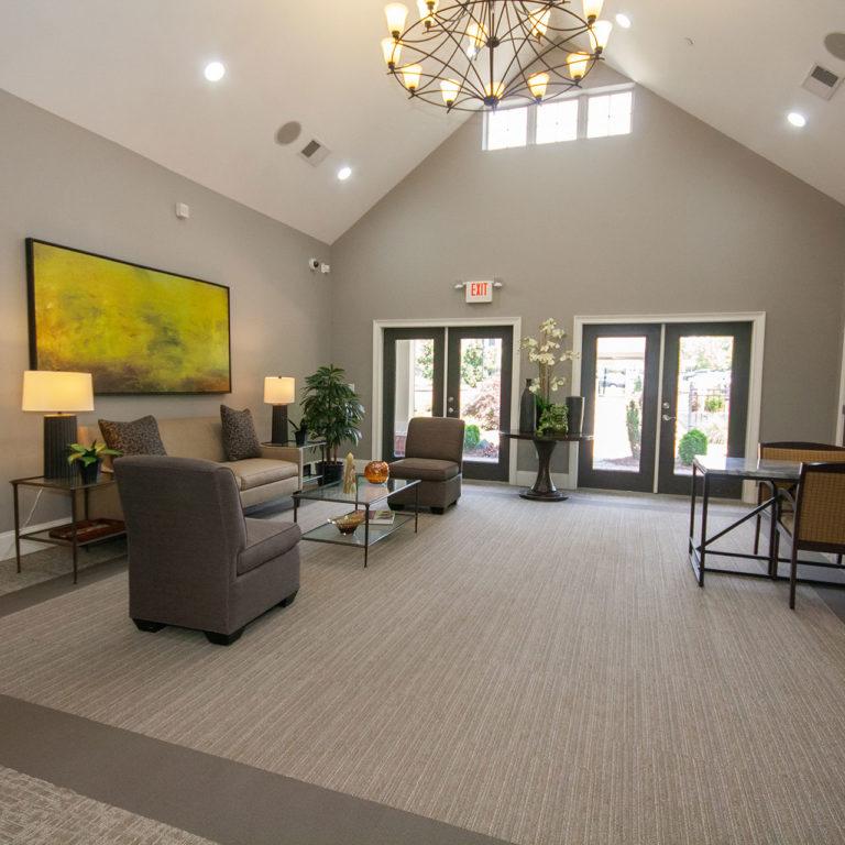 Community Room at Columbia at South River Gardens - Apartments in Atlanta, GA