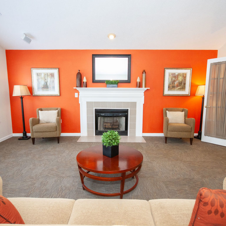 Community room at Columbia Village - Apartments in Decatur, GA