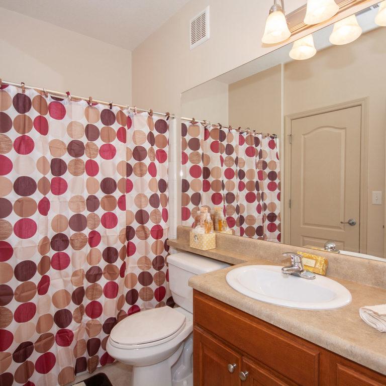 Interior bathroom at Columbia at South River Gardens - Apartments in Atlanta, GA