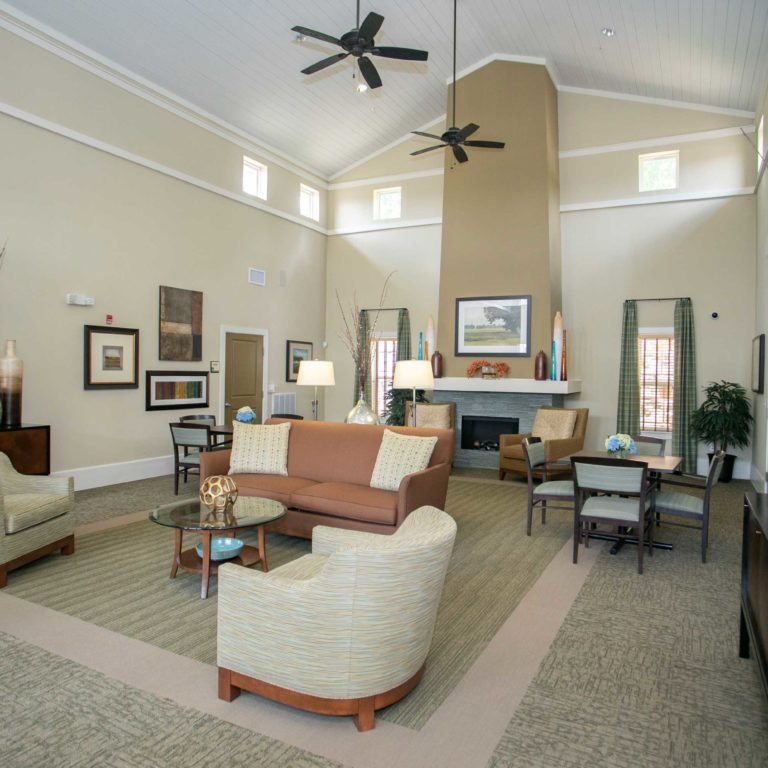 Community Room at The Retreat at Edgewood Townhomes - Apartments in Atlanta, GA
