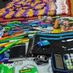 5th Annual Back to School Bash - Donated school supplies - Columbia Residential