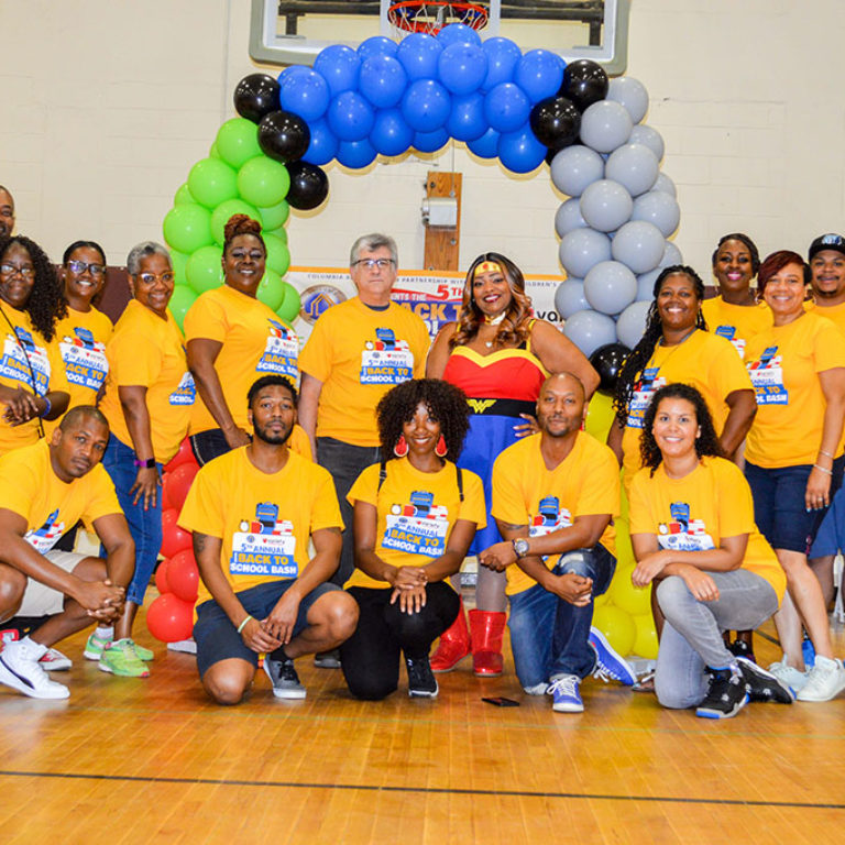5th Annual Back to School Bash - Team members - Columbia Residential