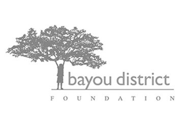 logo - Bayou District Foundation - Columbia Residential partner