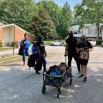 2020 backpack and school supplies drive by Columbia Residential